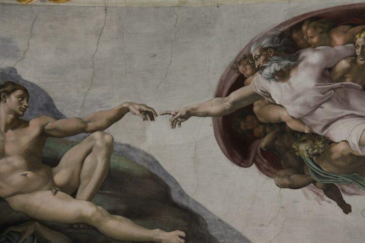 アダムの創造・システィーナ礼拝堂