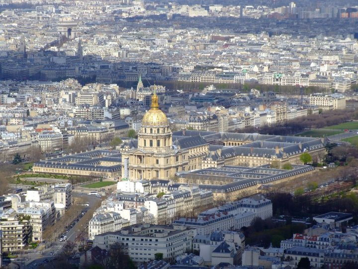 アンヴァリッド(国立廃兵院)|パリのセーヌ河岸 (3)