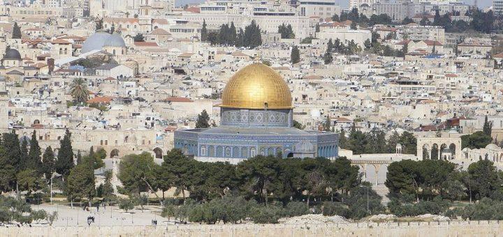 古代イスラエル王国の都エルサレム