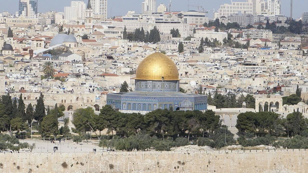 エルサレムの旧市街とその城壁群...