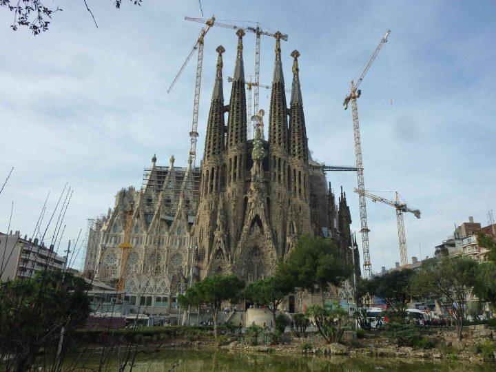 サグラダ・ファミリア スペインの世界遺産