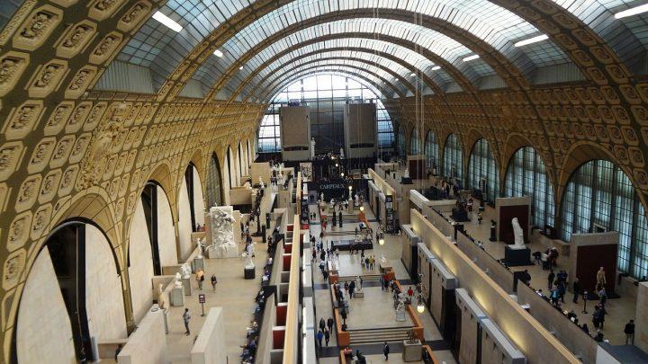 パリのセーヌ河岸・世界遺産・オルセー美術館