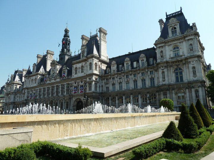パリ市庁舎|パリのセーヌ河岸 (3)