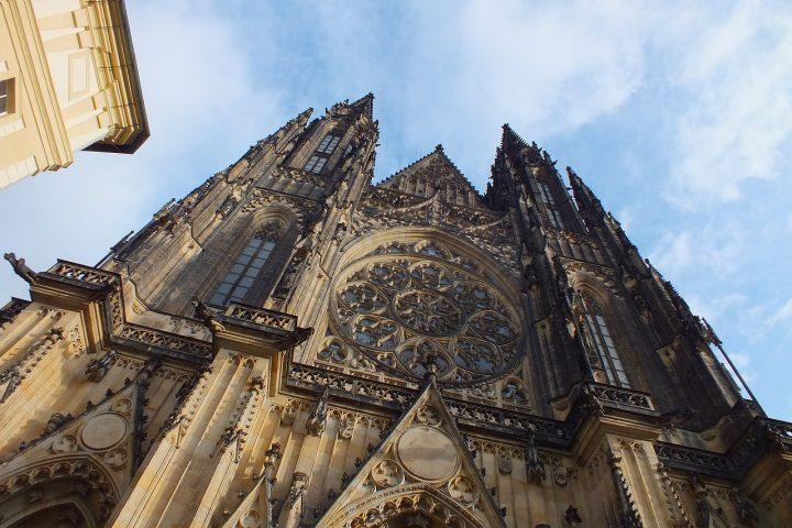 世界遺産・プラハ城内にある聖ヴィート大聖堂