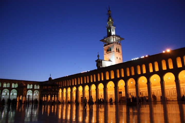 photo credit: Damascus, Umayyad Mosque via photopin (license)