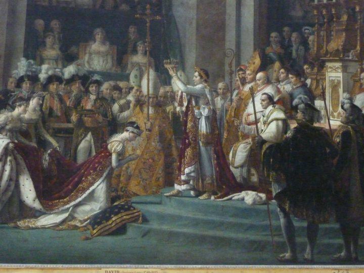皇帝ナポレオンの聖別式と皇妃ジョゼフィーヌの戴冠式