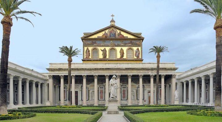 世界遺産 サン・パオロ・フオーリ・レ・ムーラ大聖堂