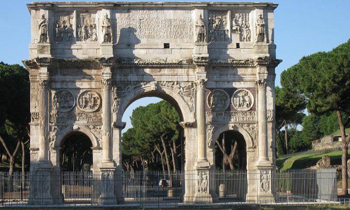 世界遺産 コンスタンティヌスの凱旋門
