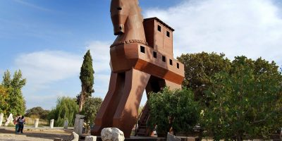 トロイア遺跡|トルコ|世界遺産...