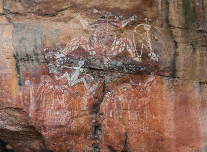 photo credit: Aboriginal rock art at Nourlangie Rock. via photopin (license)