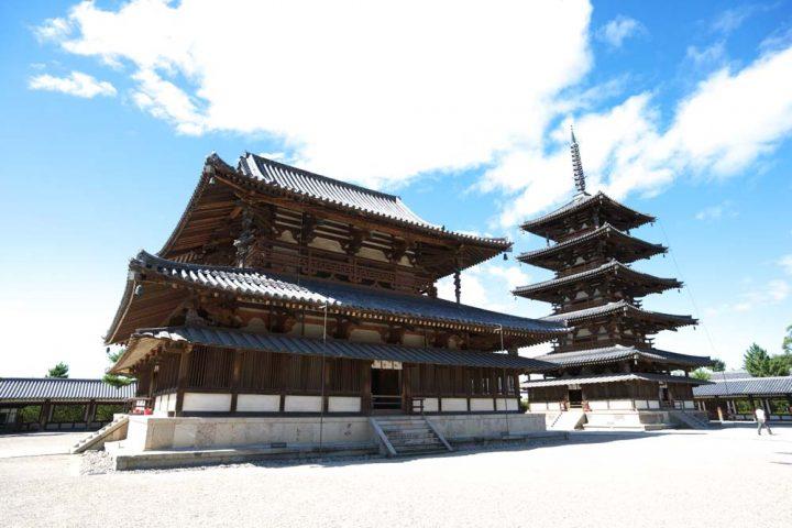 法隆寺地域の仏教建造物|日本・...