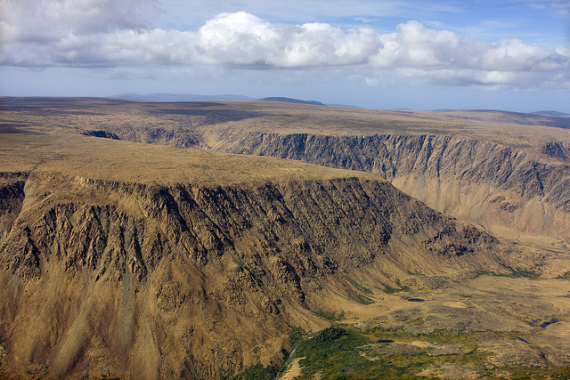 photo credit: Aeriel View - Tablelands Mtn - Gros Morne via photopin (license)