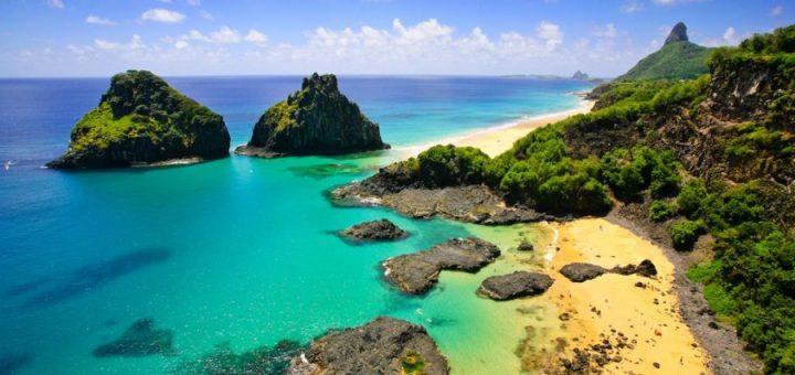 ブラジルの大西洋上の島々:フェルナンド・デ・ノローニャ諸島とロカス環礁の保護区群