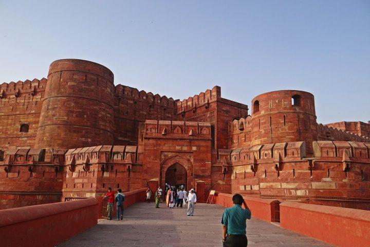 アーグラ城塞 インド 文化遺産...