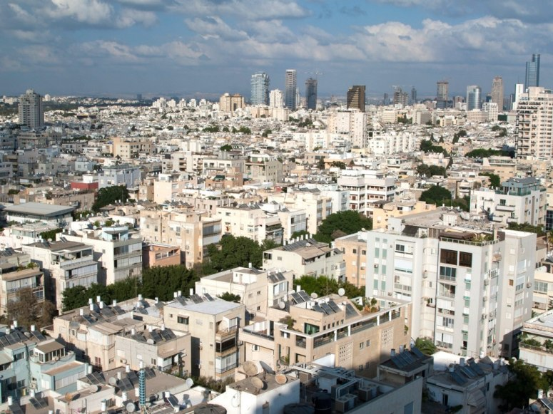 テルアビブの白い都市 - 近代化...