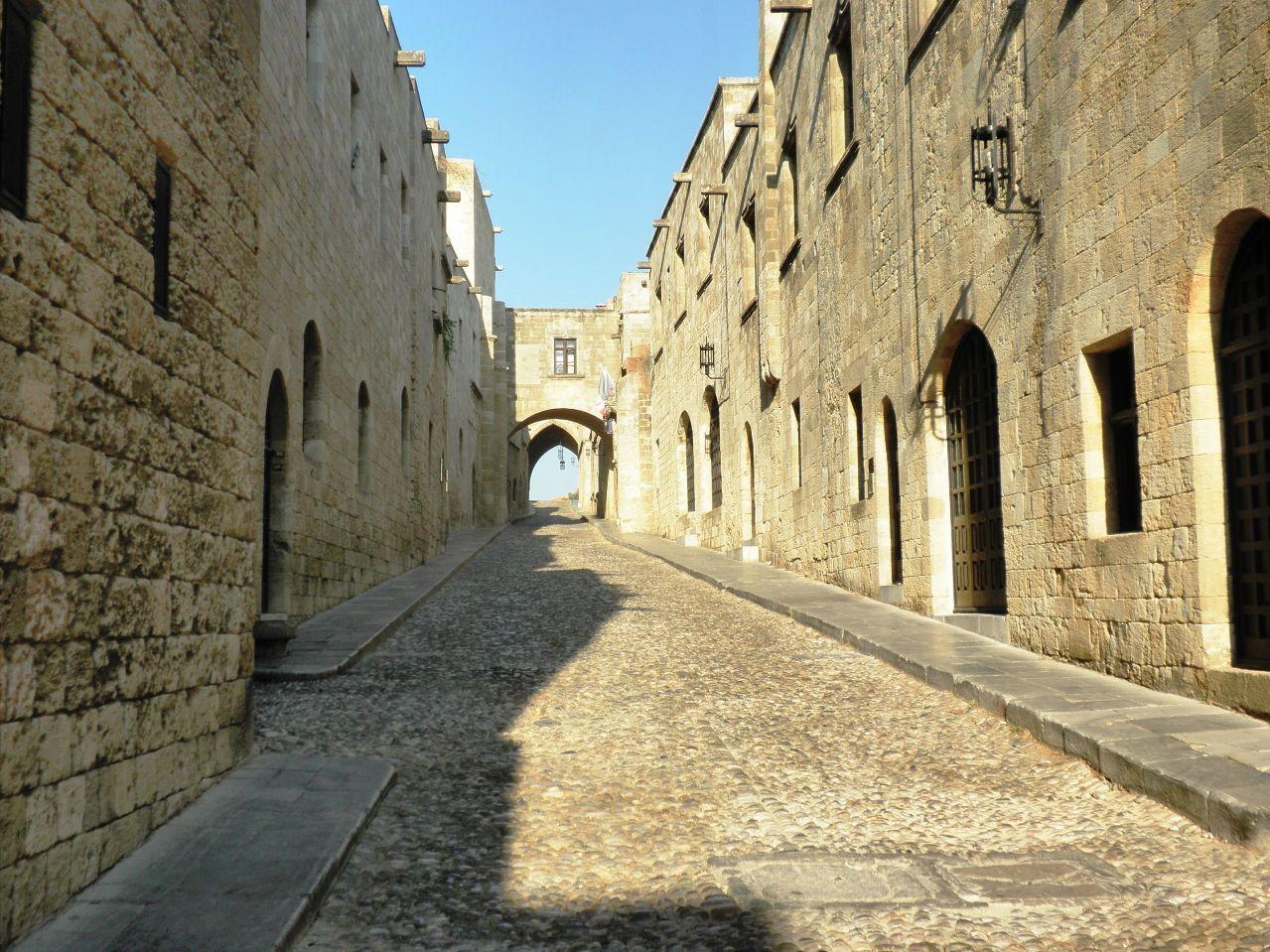ロドスの中世都市