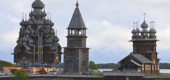 キジー・ポゴスト(キジ島の木造教会建築)