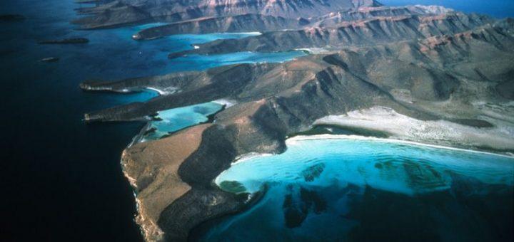 カリフォルニア湾の島々と自然保護区