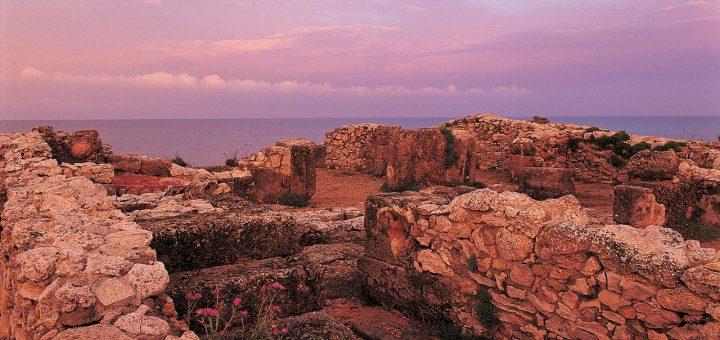ケルクアンの古代カルタゴの町とその墓地遺跡
