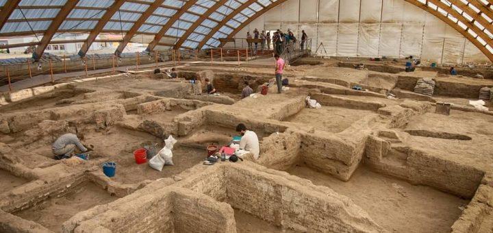 チャタル・ヒュユクの新石器時代遺跡