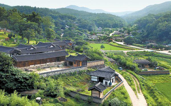 世界遺産・大韓民国の歴史的村落:河回と良洞2