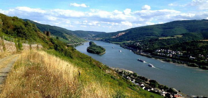 ライン渓谷中流上部
