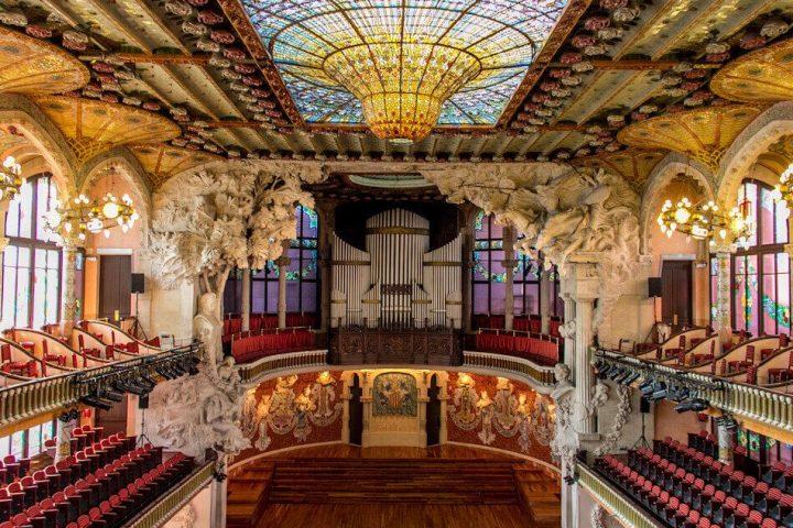 世界遺産・バルセロナのカタルーニャ音楽堂とサン・パウ病院