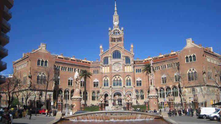 世界遺産・バルセロナのカタルーニャ音楽堂とサン・パウ病院2