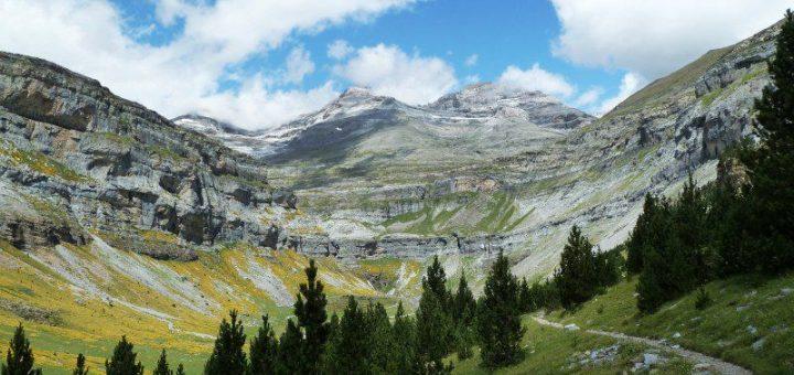 ピレネー山脈のモン・ペルデュ