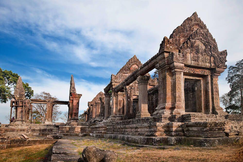 プレアヴィヒア寺院|カンボジア...