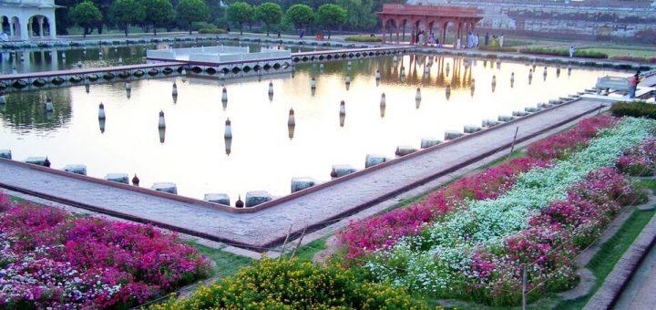 ラホールの城塞とシャーラマール庭園