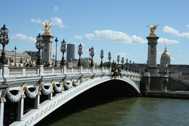 アレクサンドル3世橋|パリのセーヌ河岸 (2)