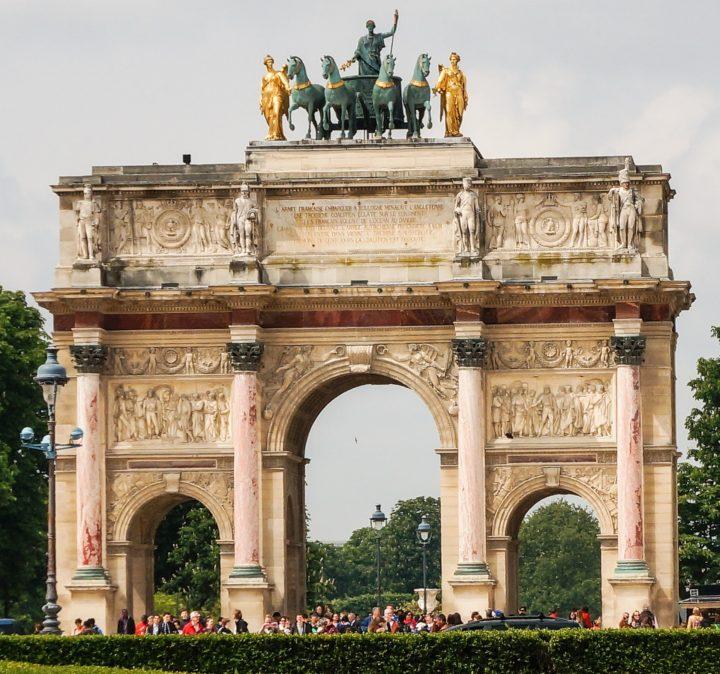 【世界遺産】カルーゼル凱旋門|パリのセーヌ河岸