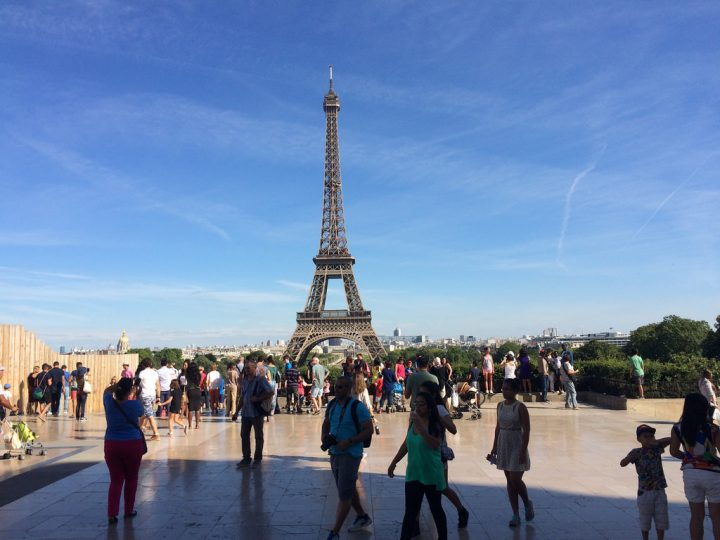 photo credit: Eiffel Tower candid Street Photography trocadero gardens Palais de Chaillot Paris France via photopin (license)