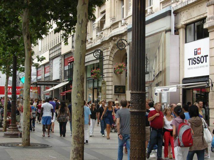シャンゼリゼ通り|パリのセーヌ河岸 (3)