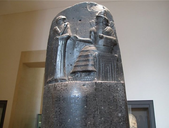 photo credit: Law code of Hammurabi - King Hammurabi with Shamash via photopin (license)