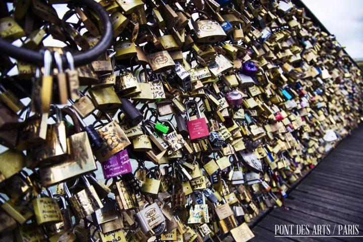 【世界遺産】ポン・デ・ザール(芸術橋)|パリのセーヌ河岸