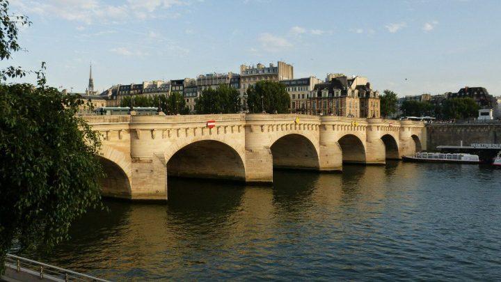 ポン・ヌフ橋|パリのセーヌ河岸 (2)