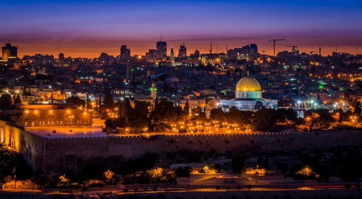 photo credit: Night view of Jerusalem from Mt of Olives Israel via photopin (license)