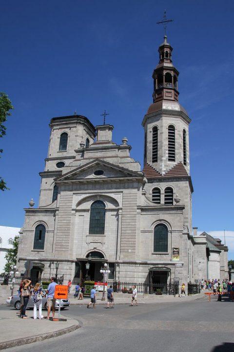 【世界遺産】ノートル・ダム大聖堂|ケベック歴史地区