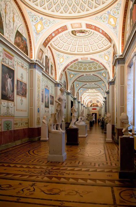 【世界遺産】エルミタージュ美術館|サンクトペテルブルク歴史地区と関連建造物群