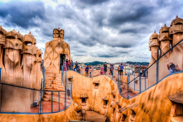 photo credit: Roof of Casa Milà, Barcelona, Spain via photopin (license)