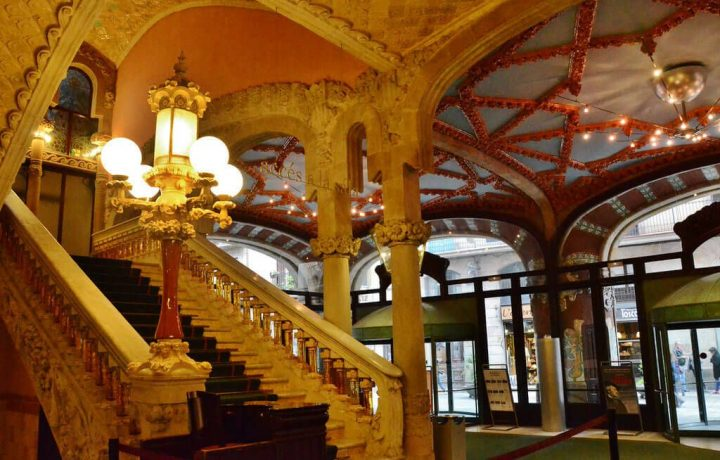 photo credit: Palau de la Música Catalana,Sant Pere, Santa Caterina i la Ribera, Barcelona via photopin (license)