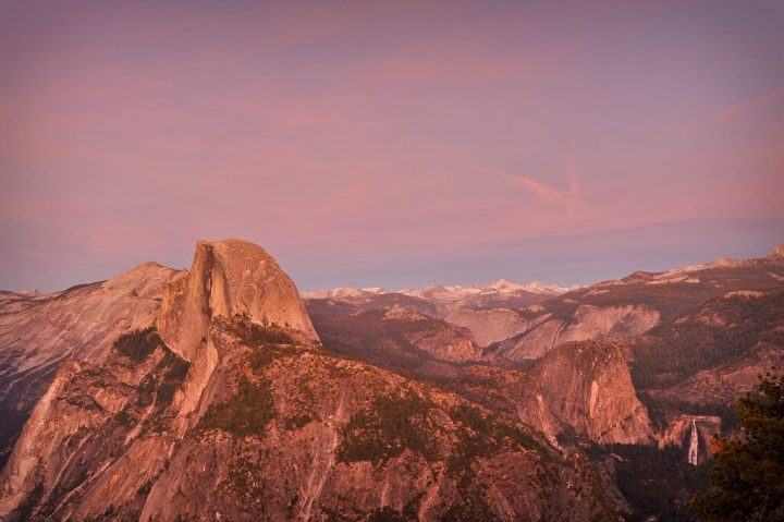 photo credit: Half Dome and Nevada Falls from Glacier Point via photopin (license)