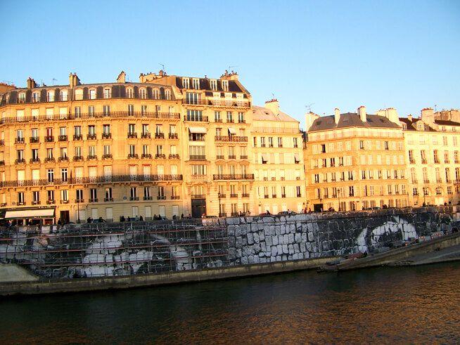 【世界遺産】サン・ルイ島|パリのセーヌ河岸