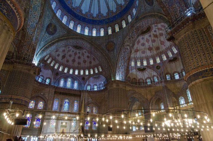 【世界遺産】スルタン・アフメト・ジャミィ(ブルー・モスク)|イスタンブルの歴史地区