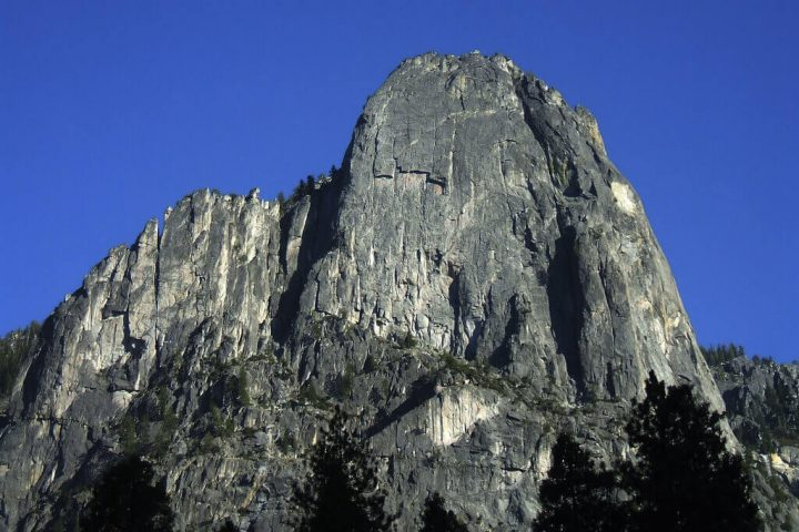 photo credit: Sentinel Rock from Swinging Bridge via photopin (license)