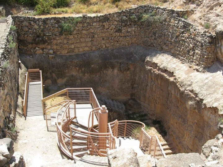 photo credit: The water cistern at Hazor via photopin (license)