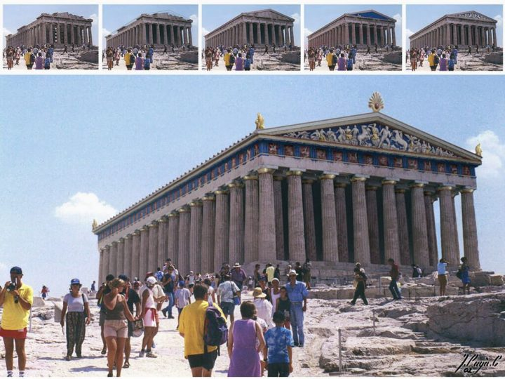 photo credit: restored parthenon via photopin (license)