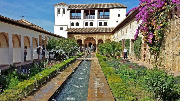ヘネラリーフェ離宮|グラナダのアルハンブラ、ヘネラリーフェ、アルバイシン地区 (2)